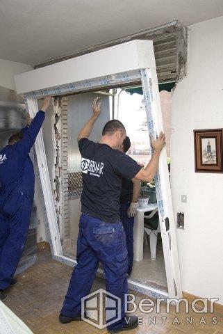 Montaje especial para obras for Colocacion de ventanas de aluminio