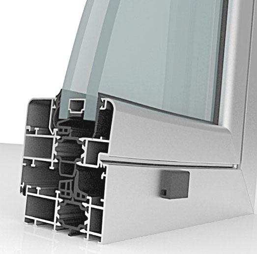 Ventanas de aluminio bermar ventanas - Aluminio con rotura de puente termico ...
